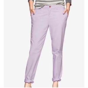 GAP broken-in straight women's khakis pants